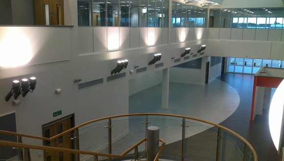 Atrium, Administration Office, UK Oil Refinery