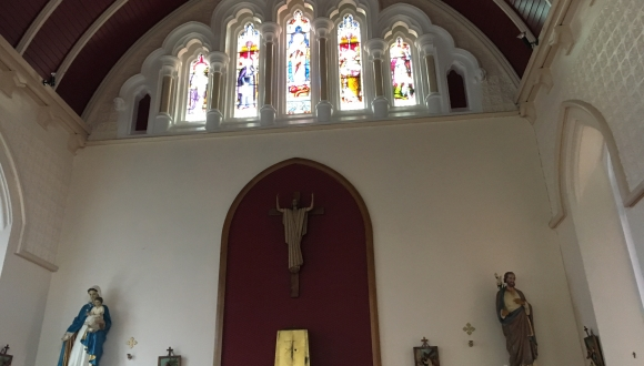 Interior of St Marys RC Church