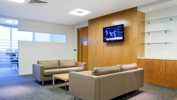 Reception Area, Milton Keynes Office Fit Out
